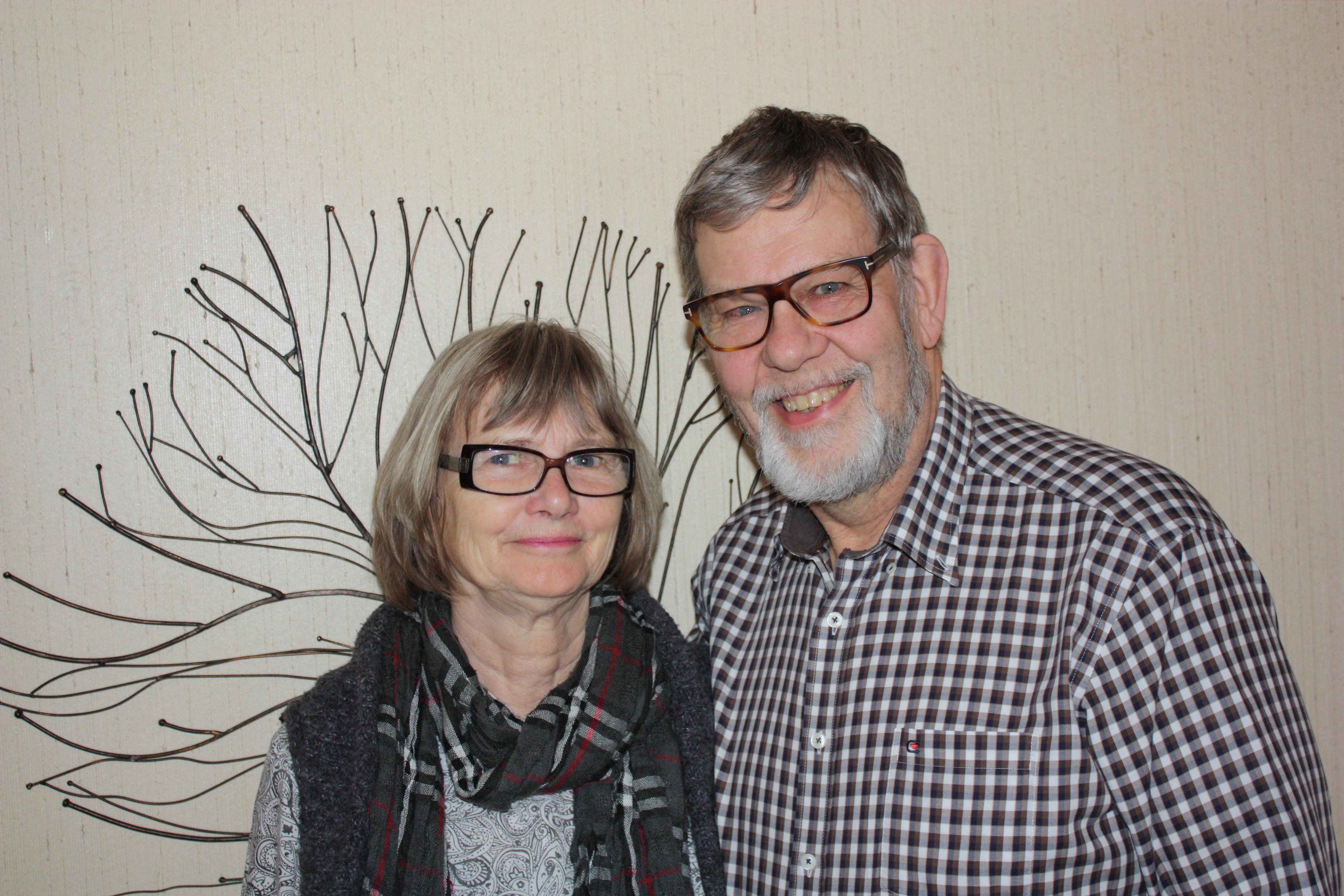 Foto på Carl och Ann-Margreth
